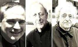 Bernard Noël, Zéno Bianu y Jean-Yves Masson
